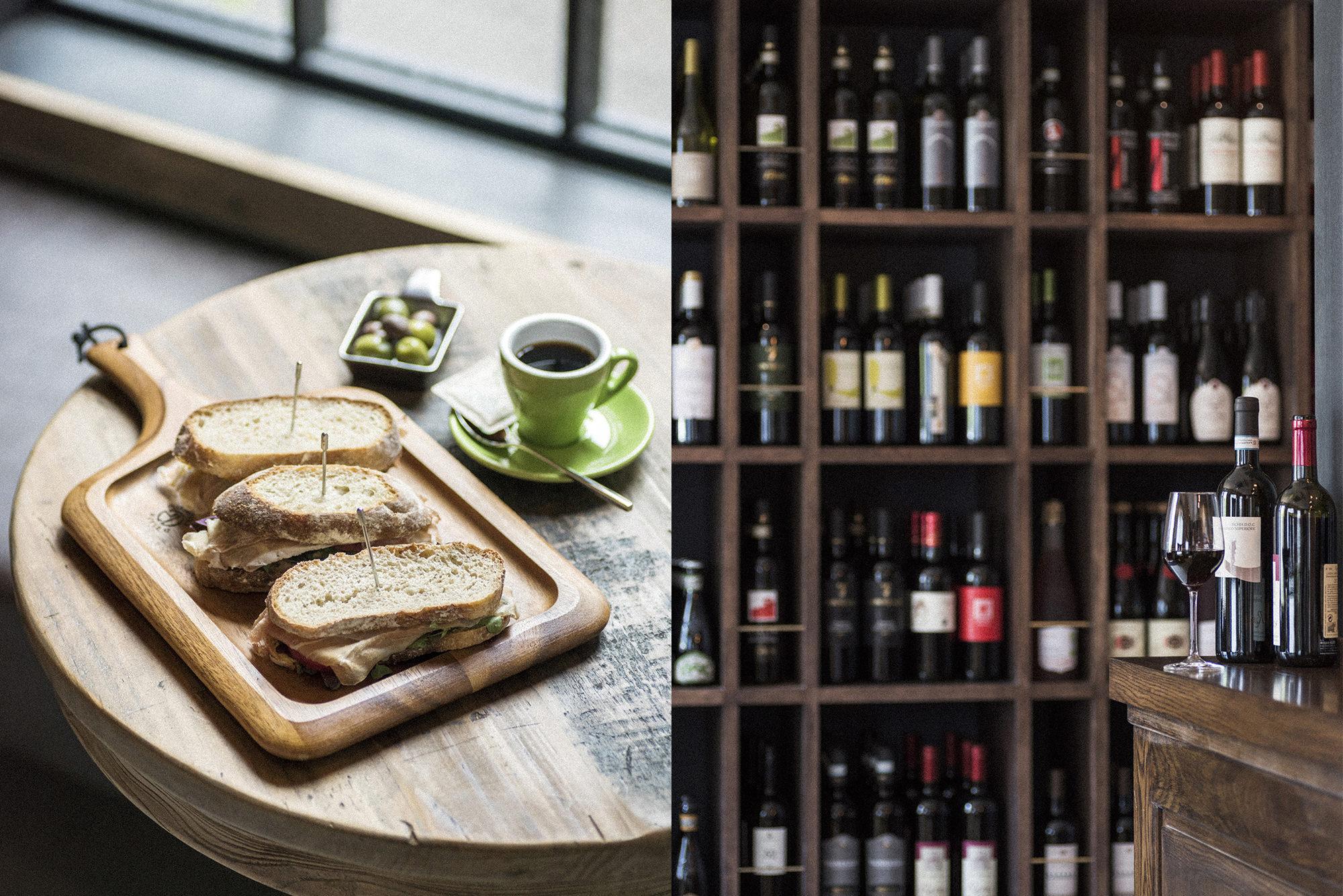 wine & panini image